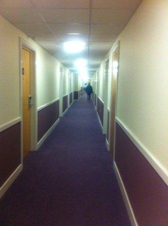 Premier Inn Lincoln City Centre Hotel: hallway