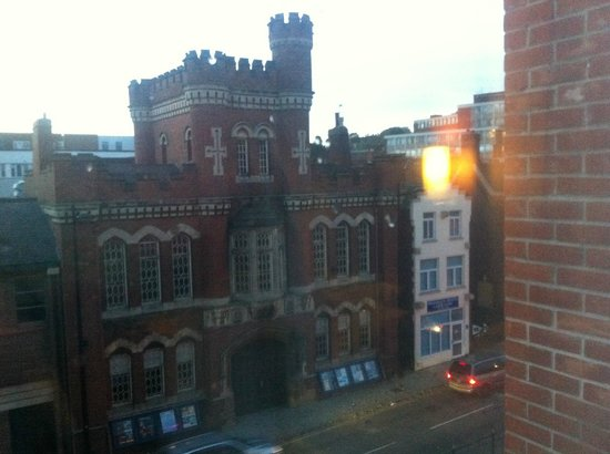 Premier Inn Lincoln City Centre Hotel: view from room 321