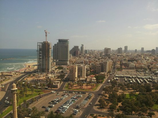 InterContinental David Tel Aviv : Great view of Tel Aviv