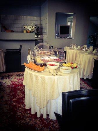 Hotel Villa Cansignorio : Sala colazione