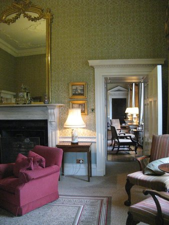 Ston Easton Park Hotel: Looking through the drawing rooms towards the dining room