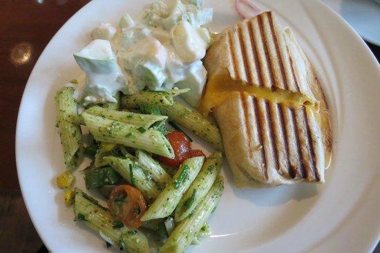 Jules Restaurant: My pannini lunch