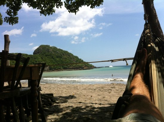 Gigante Bay : Hammock view