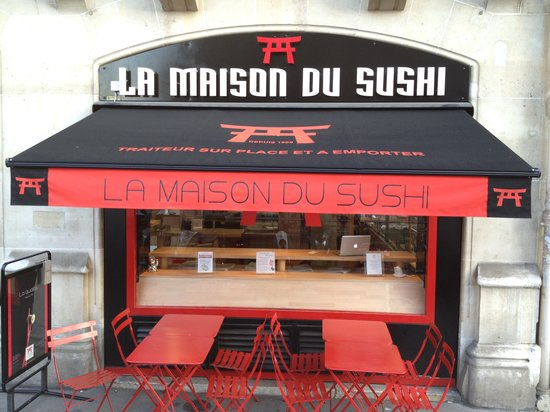 la maison du sushi paris restaurant avis num ro de t l phone photos tripadvisor. Black Bedroom Furniture Sets. Home Design Ideas