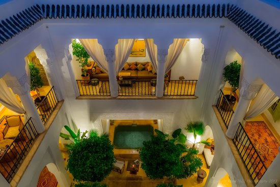 Riad Camilia: View from rooftop