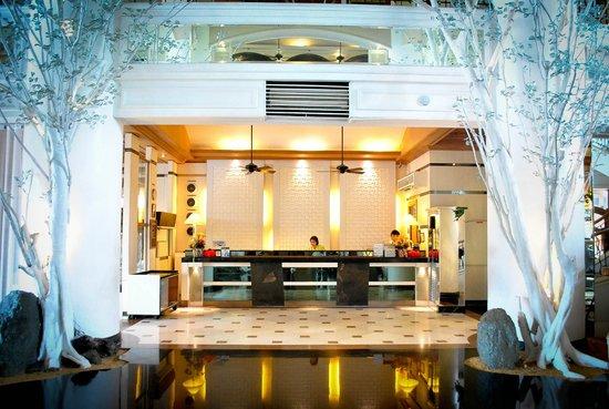 Vivere Hotel: classy lobby