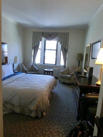 Park South Hotel: Chambre au dernier étage