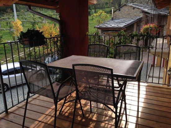 Agricola Bargiolina : colazione in terrazza