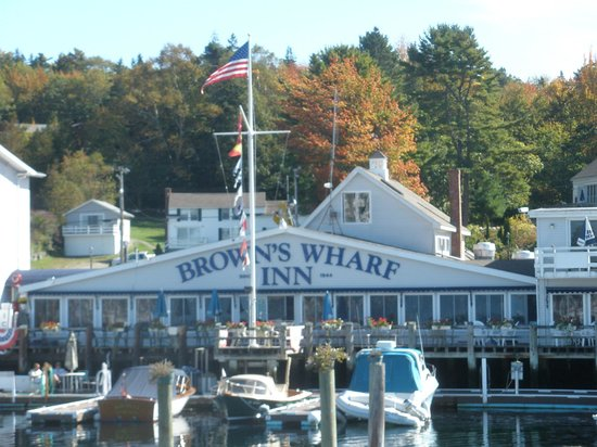 Brown's Wharf Inn: view