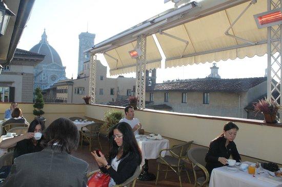 Hotel Laurus al Duomo: View from 6th Floor Breakfast Terrace