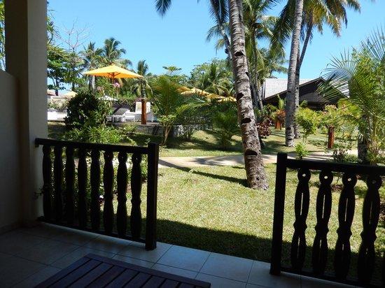 Royal Beach Hotel : Vue de devant notre chambre