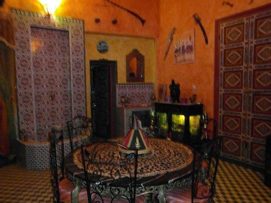 Riad Le Mazagao : interieur du riad