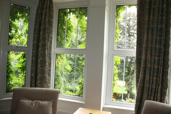 Ratherton House: Lovely views from the large windows