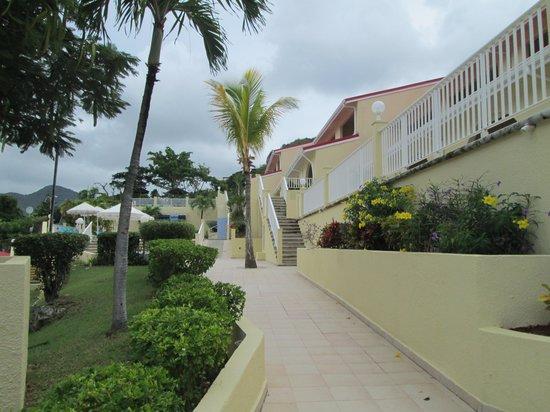 Simpson Bay Resort & Marina: Caladium Building.