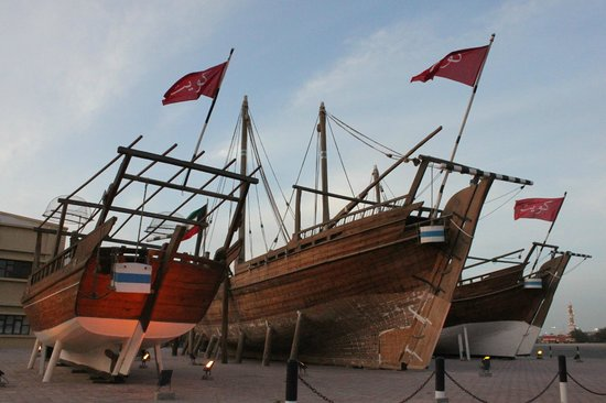 Kuwaiti Maritime Museum: Traditional Dhows