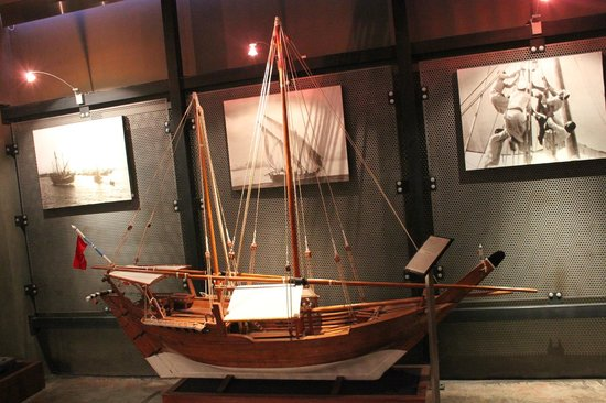 Kuwaiti Maritime Museum: a model of a traditional dhow