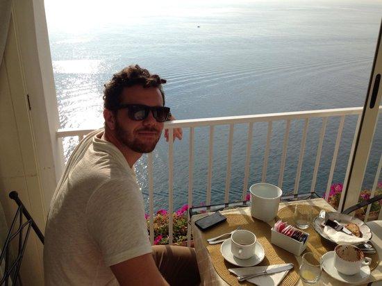 Hotel La Ninfa : View at breakfast