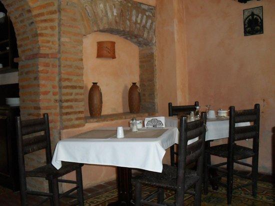 Casa Naemie : salle des petits dejeuners