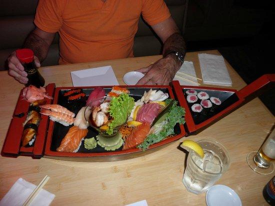 Hiro Japanese Restaurant : nos tiramos de cabeza