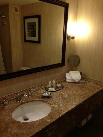 Renaissance Baltimore Harborplace Hotel: Bathroom