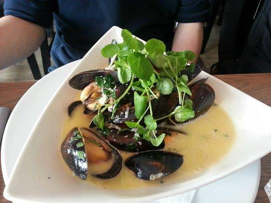 Sjobaren i Haga: Mussels