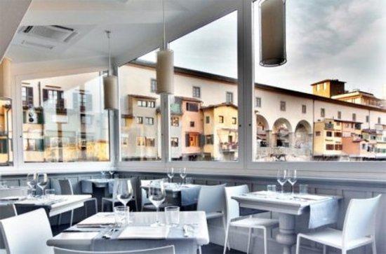 Golden View Open Bar: Saletta privata - splendida vista sul Ponte Vecchio