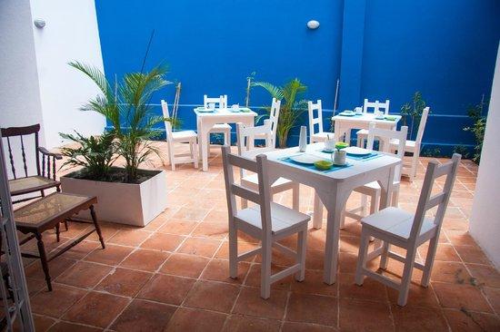 Foto de la casa azul cali terraza del restaurante for Restaurante la terraza de la casa barranquilla