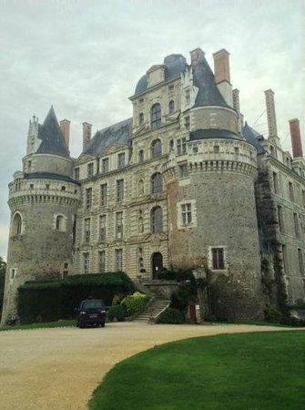 Chateau de Brissac: Front of the castle