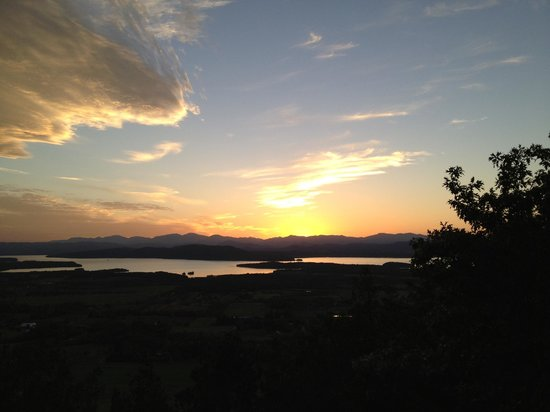 Mt. Philo Inn : Sunset from Mt Philo