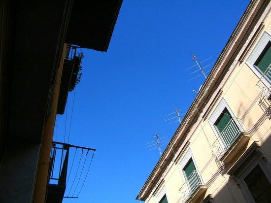 Bed and Breakfast Del Corso: Blick aus dem Fenster nach oben