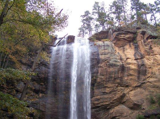 Toccoa Falls: Mother nature at its best.