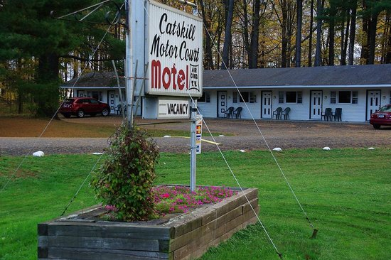 Catskill Motor Court: North wing of the motel