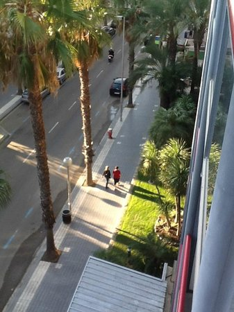 Eurosalou Hotel : Вид с балкона номера
