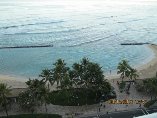 Pacific Beach Hotel: View from our balcony!
