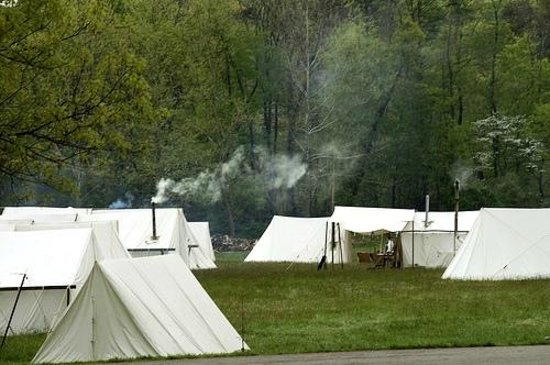 Fort Frederick State Park: 18th Century Camp Site