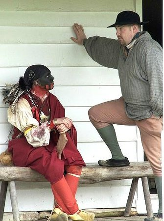 Fort Frederick State Park: French and Indian War Conversation