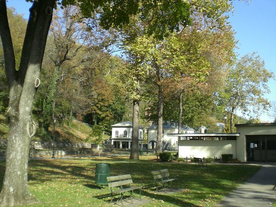 Bath Houses - Berkeley Springs State Park