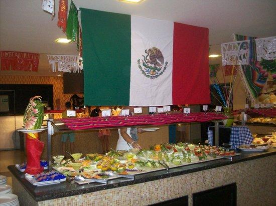 decoraci n mexicana en el restaurante buffet casa del mar