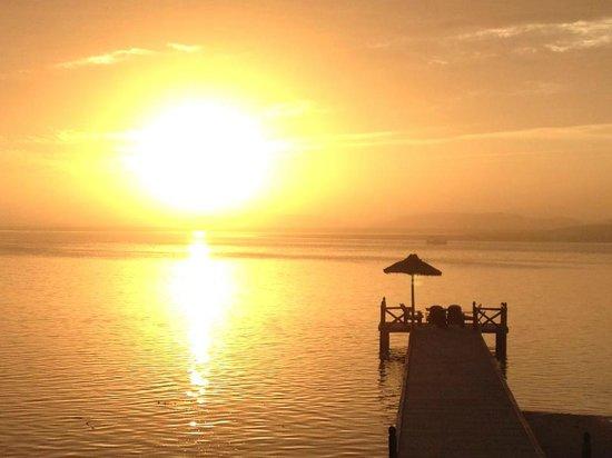 La Sultana Oualidia: Sunset at La Sultana, Oualidia