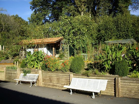 Maison Elgartea: jardin
