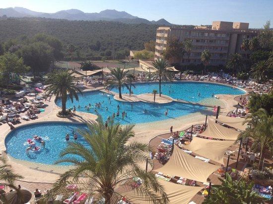 Club Cala Romani: Pool area