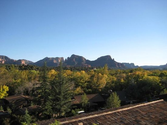 L'Auberge de Sedona: South view from my patio