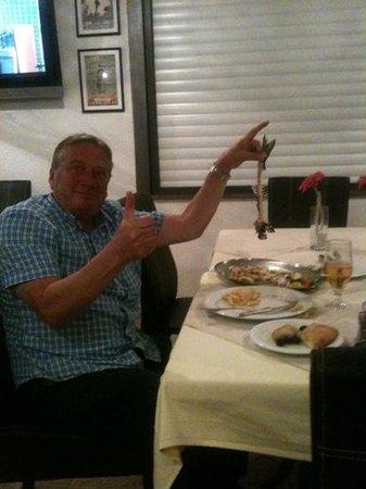 Restaurant Marinero: very satisfied guest