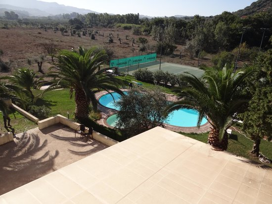 Alghero Resort Country Hotel: View of the pool, from our room