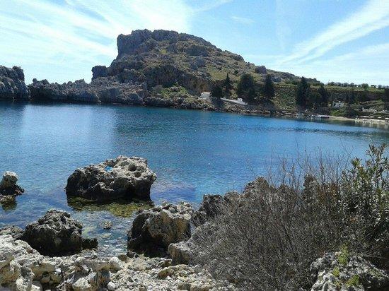 Agios Pavlos Beach (Saint Paul): St Paul's bay