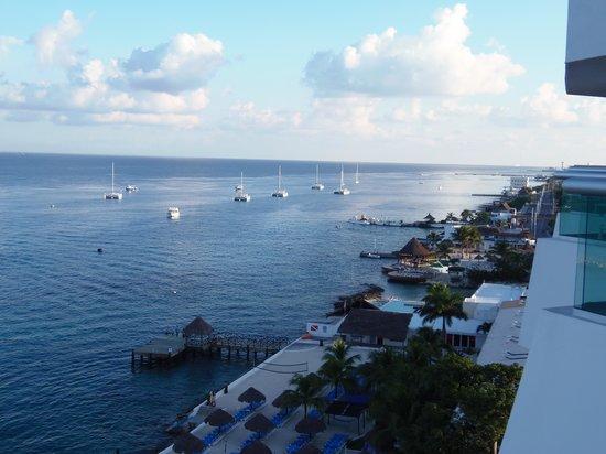 El Cid La Ceiba Beach Hotel: breath taking view from our room