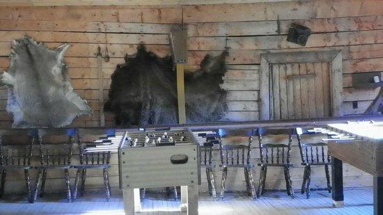 Bar Lazy J Guest Ranch: Buckhorn Inn at BLJ entertainment area