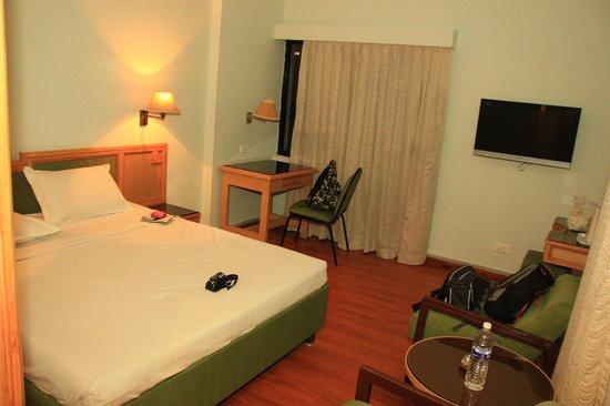 Hotel Park Plaza: Chambre double