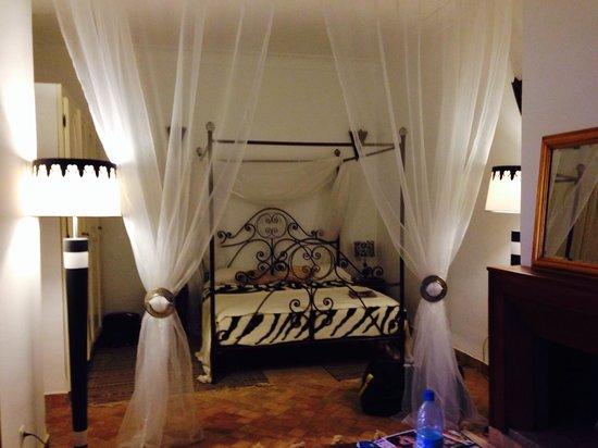 Notre chambre au Riad mandalay