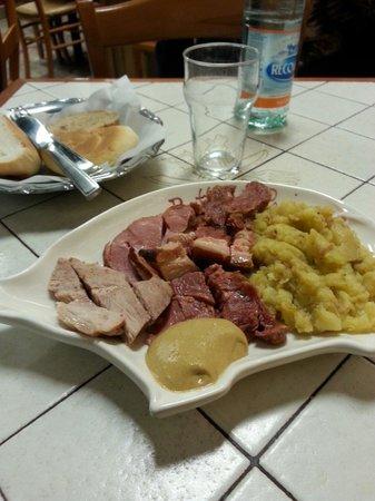 Buffet da Pepi: Misto con patate